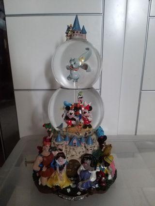 絕板迪士尼音樂水晶球 有發泡膠冇盒