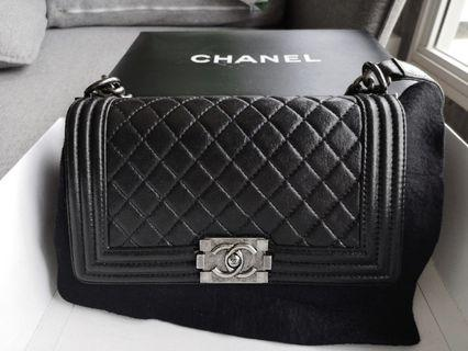 Fast deal $3500! Authentic Chanel Boy