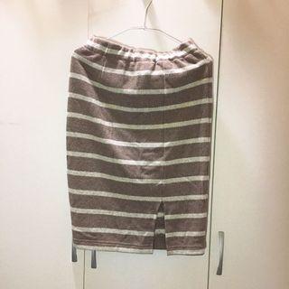 🚚 條紋針織裙