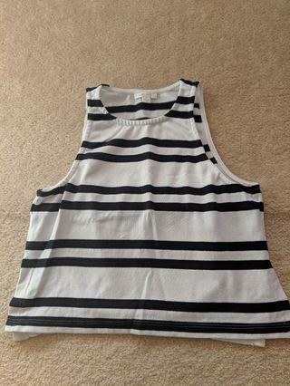 Kookai Jennifer striped tank size 36