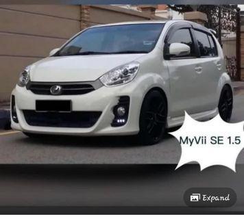 Perodua Myvi for rent / sewa