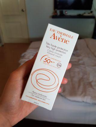 AVENE Very High Protection Mineral Cream SPF50 (50ml)