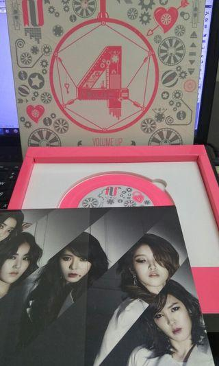 4minute VOLUME UP album