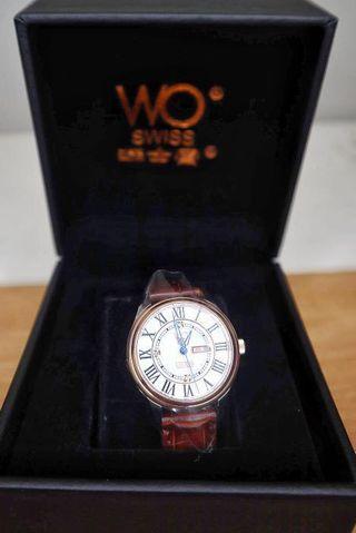 瑞士寶白鑽女裝錶