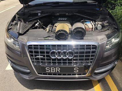 🚚 Audi Q5 3.2L V6 Hurricane Filter
