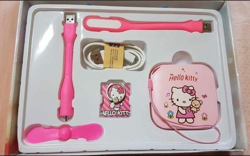 Hello Kitty Premium 8000mah Power Bank 5 in 1 Set