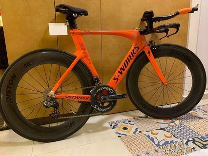 Selling Shiv TT size S full bike (UCI approved)