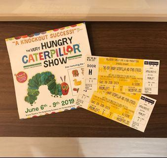 2張英文話劇飛 The Very Hungry Caterpillar and other stories