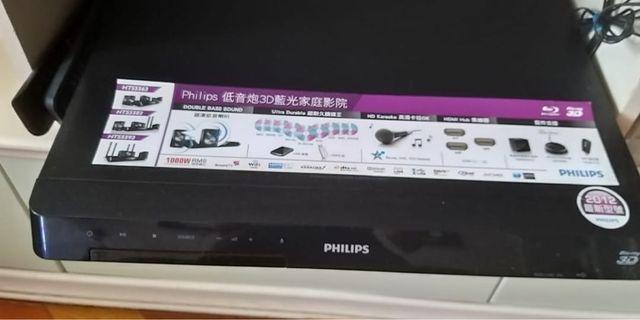 philips低音炮3D藍光家庭影院組合