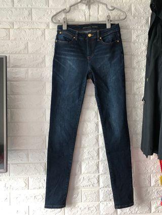 Michael Kors深藍色牛仔褲99%new
