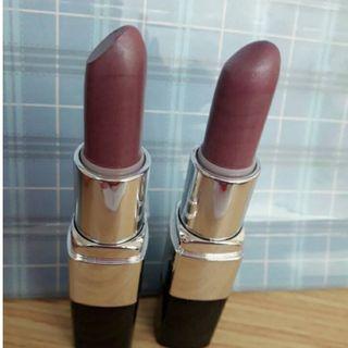 (換物)藕紫色口紅(一新一舊)