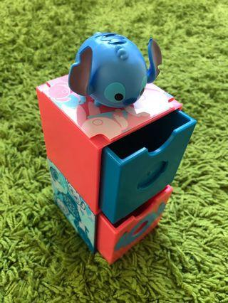 Stitch Tsum Tsum drawer set by 7-Eleven