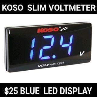 KOSO Voltmeter ready stock