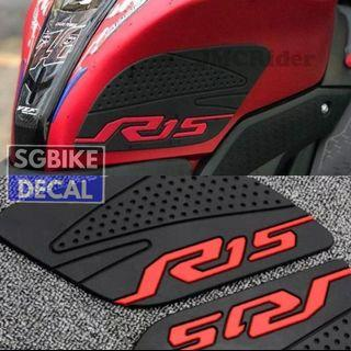 R-15 V'3 pad blue red avail