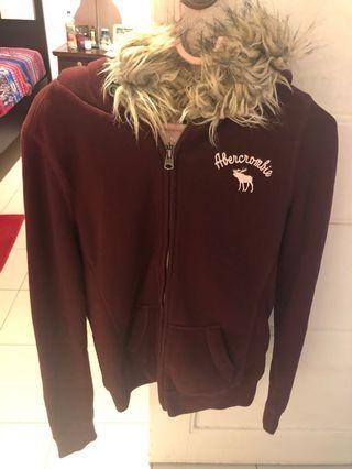 A&F winter hoodie