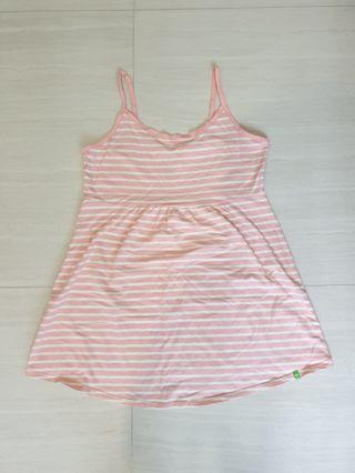 Maternity pink top