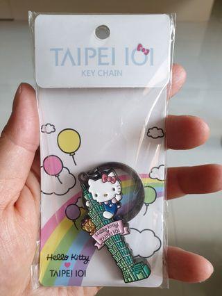 Hello Kitty Taipei 101 Keychain