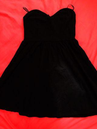 FOREVER 21 Sweet Neckline Short Dress