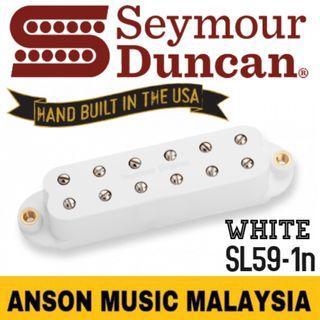 Seymour Duncan SL59-1n Little '59™ Strat Pickup- Neck, White