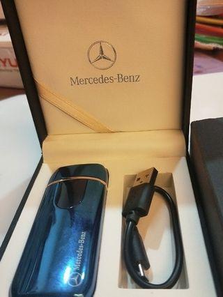 Benz電阻打火機藍色