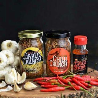 Daddy Mikk's Chilli Garlic Crunch