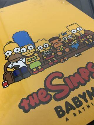 Baby Milo x The Simpsons Notebook Kaws Bape