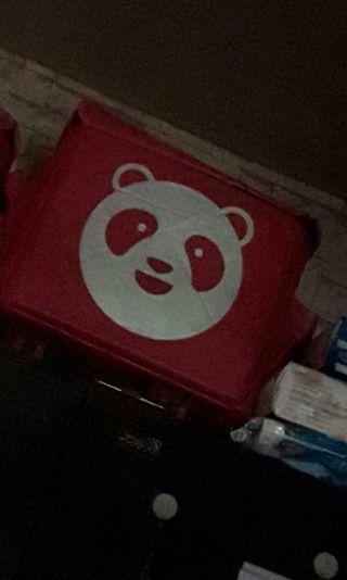 Food panda bag