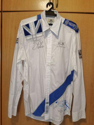 Original La Martina Long Sleeve Shirt