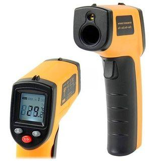 Digital Thermometer Temperature Meter Precise Non-Contact LCD IR Laser Infrared