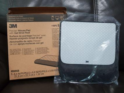 BRAND NEW 3M Precise Mouse Pad with Gel Wrist Rest