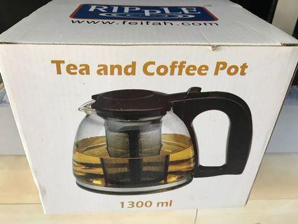 🚚 Tea and coffee pot (with siever)