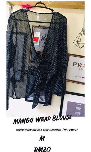 Mango Blouse Wrap