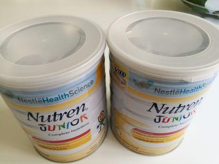 Nutren Junior milk 800g