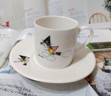 誠品小魔女咖啡杯盤組