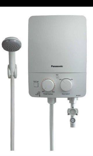 Instant Water Heater Home Shower Panasonic #RayaHome