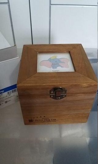 全新絕板日本迪士尼杯連木盒