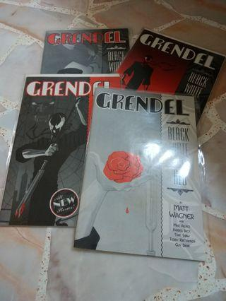 Grendel black white and red