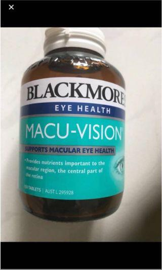 Blackmores Macu Vision 150tablets