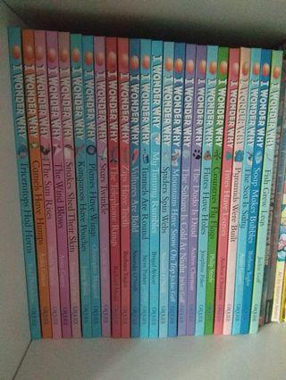 🚚 I wonder why books (24) Grolier