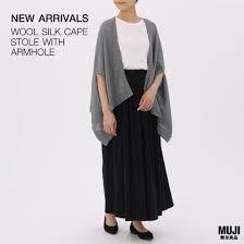 🚚 (Price can nego) MUJI cape stole