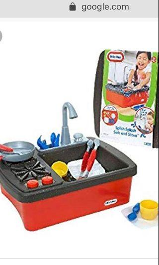 🚚 Looking for Little tikes splish splash sink & stove