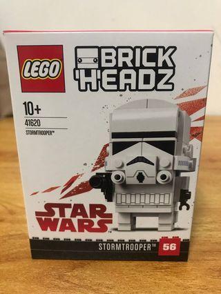 LEGO brickheadz 41620 白兵