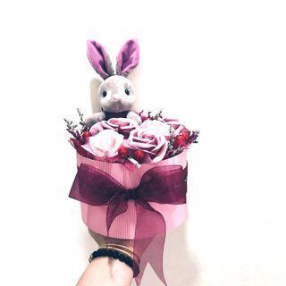 🚚 Bunny Soap Rose Box 🌷