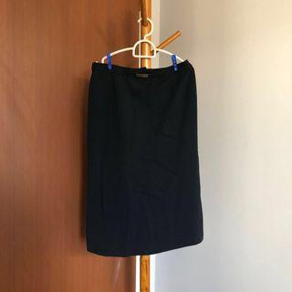 🚚 Black Skirt office attire formal wear