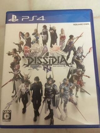 Dissidia NT Final Fantasy PS4