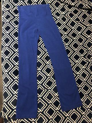 Blue workout pants/leggings