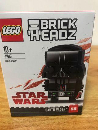 LEGO brickheadz 41619 Darth Vader star wars
