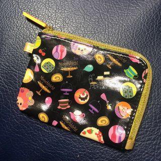 日本夢奇奇 Monchhichhi 零錢包 小收納
