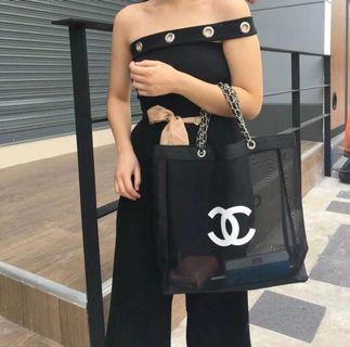 【預訂款】VIP贈品 Chanel 沙灘袋