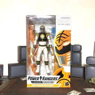 [In hand] Mighty Morphin Power Rangers White Ranger